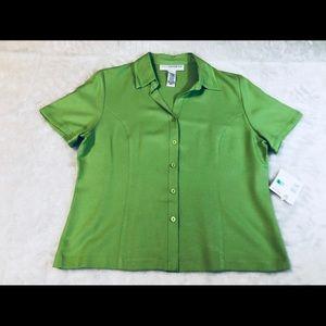 SAG HARBOR Shirt Women's Large